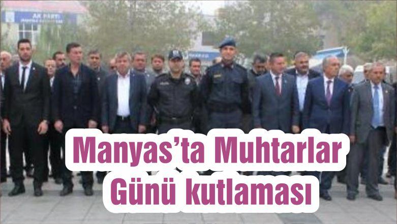 Manyas'ta Muhtarlar Günü kutlaması