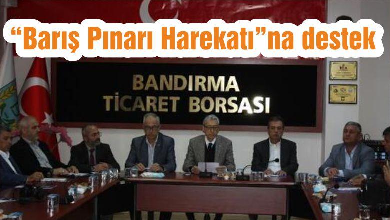 """""""Barış Pınarı Harekatı""""na destek"""