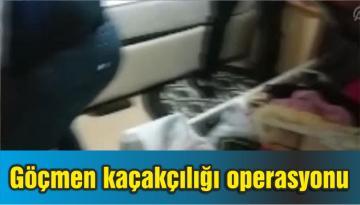 Göçmen kaçakçılığı operasyonu