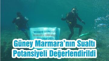 Güney Marmara'nın Sualtı Potansiyeli Değerlendirildi