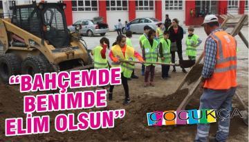 """""""BAHÇEMDE BENİMDE ELİM OLSUN"""""""