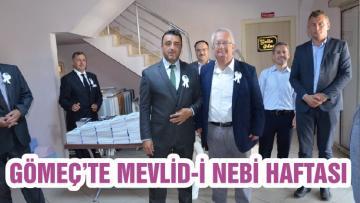 GÖMEÇ'TE MEVLİD-İ NEBİ HAFTASI