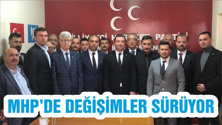 MHP'DE DEĞİŞİMLER SÜRÜYOR
