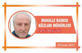 MAHALLE BASKISI AĞIZLARI MÜHÜRLEDİ