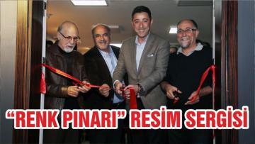 """""""RENK PINARI"""" RESİM SERGİSİ"""