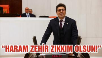 """""""HARAM ZEHİR ZIKKIM OLSUN!"""""""