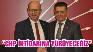 """""""CHP İKTİDARINA YÜRÜYECEĞİZ"""""""