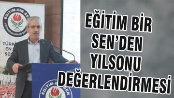 EĞİTİM BİR SEN'DEN YILSONU DEĞERLENDİRMESİ