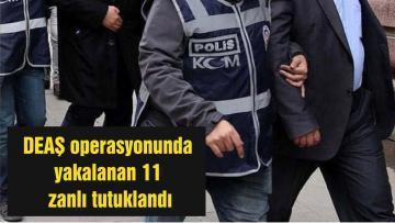 Balıkesir'deki DEAŞ operasyonunda yakalanan 11 zanlı tutuklandı