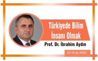 Türkiyede Bilim İnsanı Olmak