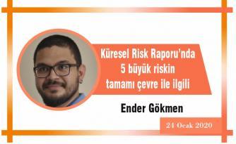 Küresel Risk Raporu'nda 5 büyük riskin tamamı çevre ile ilgili