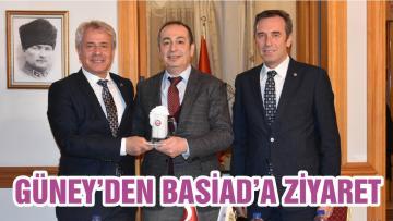 GÜNEY'DEN BASİAD'A ZİYARET