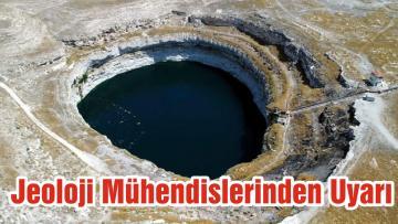 Jeoloji Mühendislerinden Uyarı