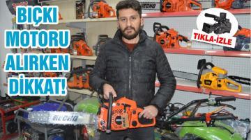 BIÇKI MOTORU ALIRKEN DİKKAT!