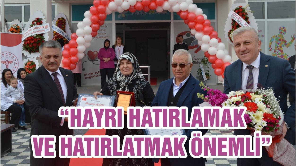 """""""HAYRI HATIRLAMAK VE HATIRLATMAK ÖNEMLİ"""""""