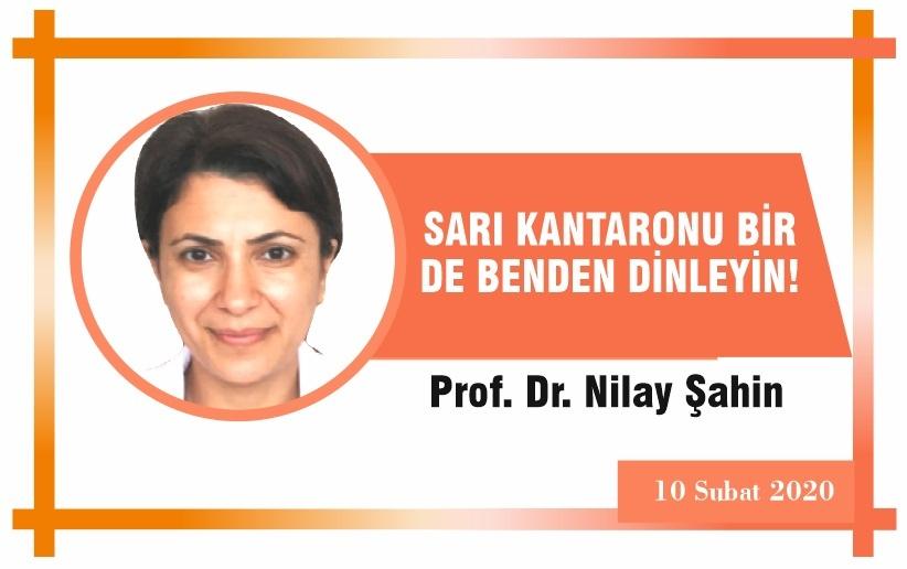 SARI KANTARONU BİR DE BENDEN DİNLEYİN!