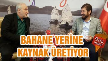 BAHANE YERİNE KAYNAK ÜRETİYOR