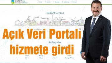 Açık Veri Portalı hizmete girdi