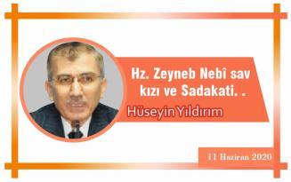 Hz. Zeyneb Nebî sav kızı ve Sadakati. .