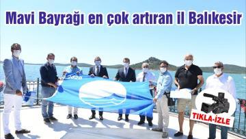 Mavi Bayrağı en çok artıran il Balıkesir oldu