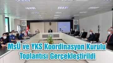 MSÜ ve YKS Koordinasyon Kurulu Toplantısı Gerçekleştirildi