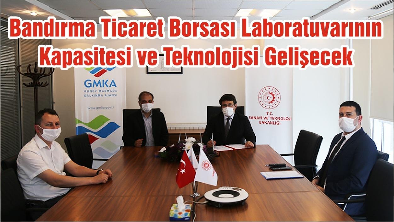 Bandırma Ticaret Borsası Laboratuvarının Kapasitesi ve Teknolojisi Gelişecek