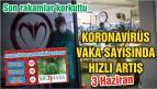 BALIKESİR'DE KORONAVİRÜSTE 3 HAZİRAN TABLOSU