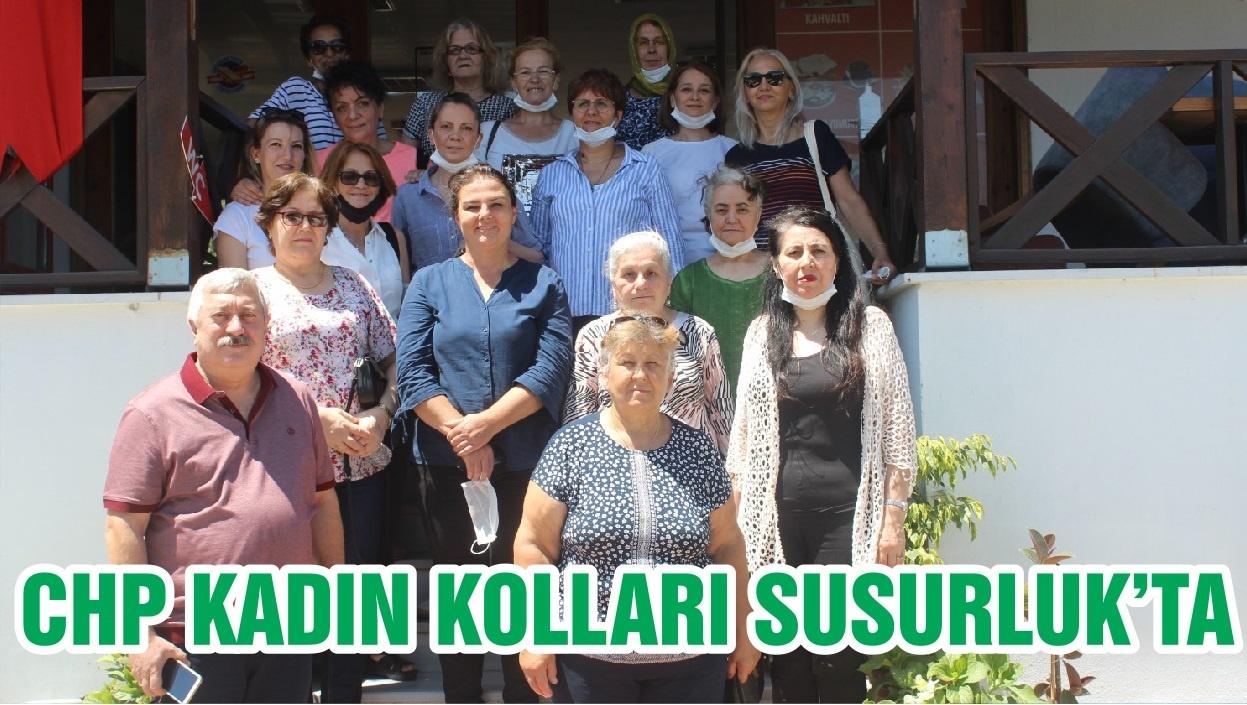 CHP KADIN KOLLARI SUSURLUK'TA