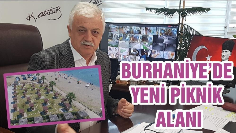 BURHANİYE'DE YENİ PİKNİK ALANI