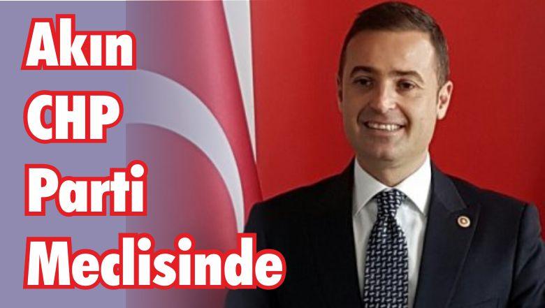 Balıkesir Milletvekili Akın CHP Parti Meclisinde