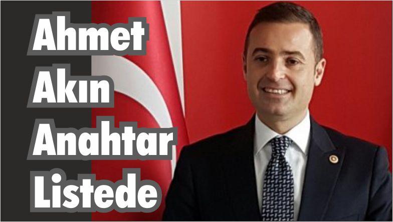 Ahmet Akın Anahtar Listede