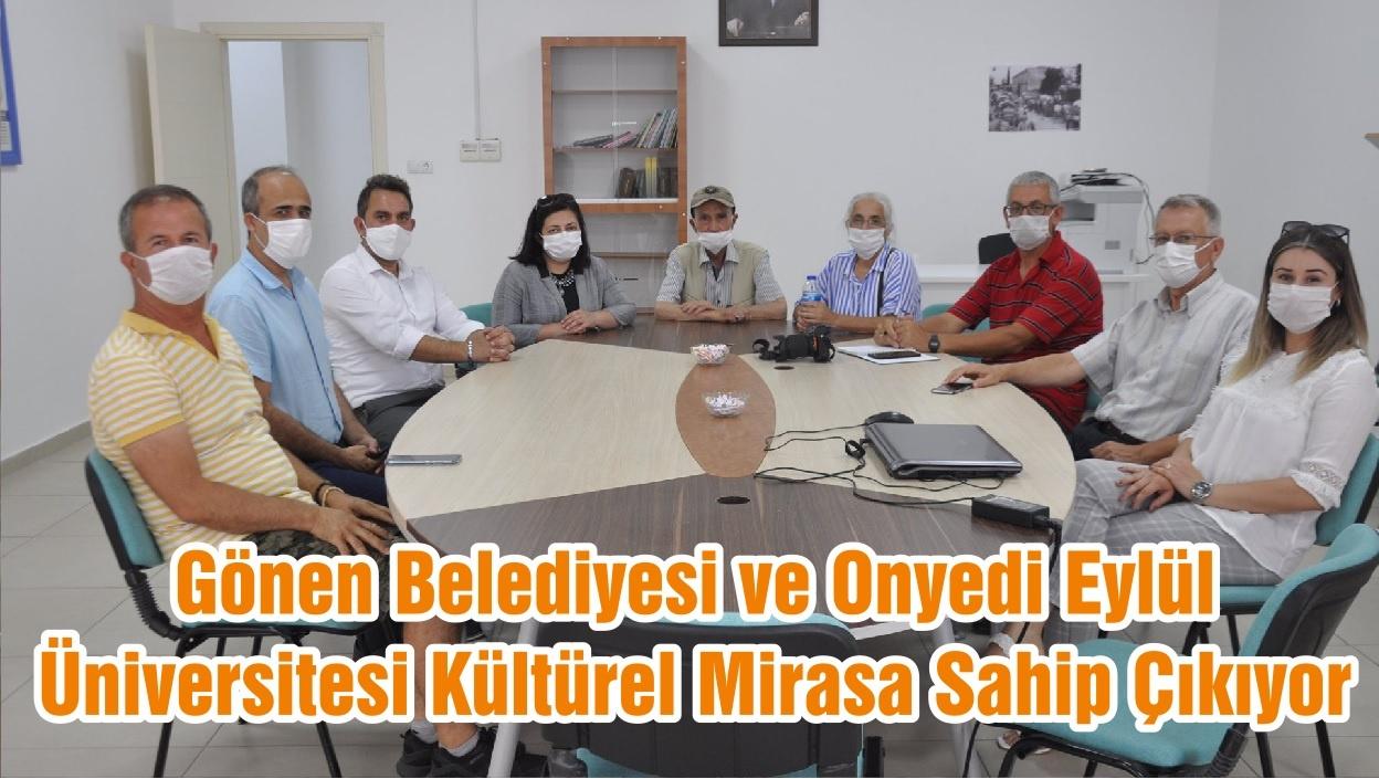 Gönen Belediyesi ve Onyedi Eylül Üniversitesi Kültürel Mirasa Sahip Çıkıyor