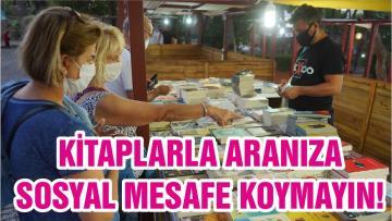 KİTAPLARLA ARANIZA SOSYAL MESAFE KOYMAYIN!