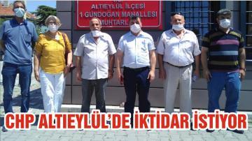 CHP ALTIEYLÜL'DE İKTİDAR İSTİYOR