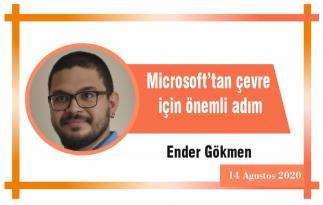 Microsoft'tan çevre için önemli adım