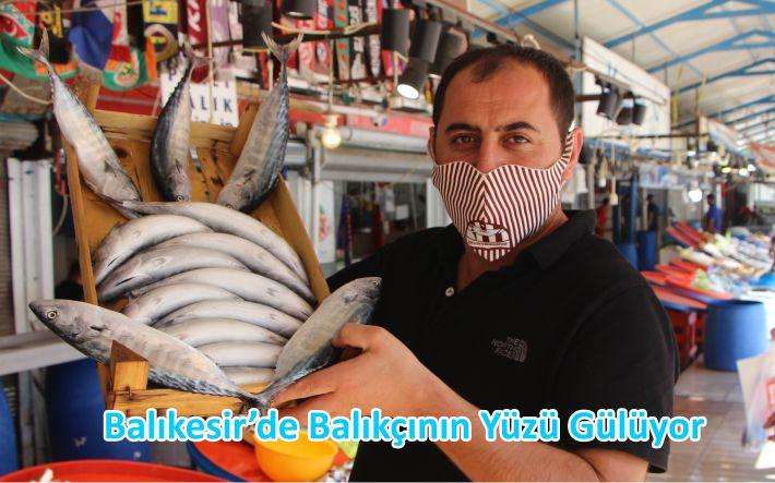 Balıkesir'de Balıkçının Yüzü Gülüyor