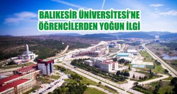 Balıkesir Üniversitesi'ne Yoğun İlgi