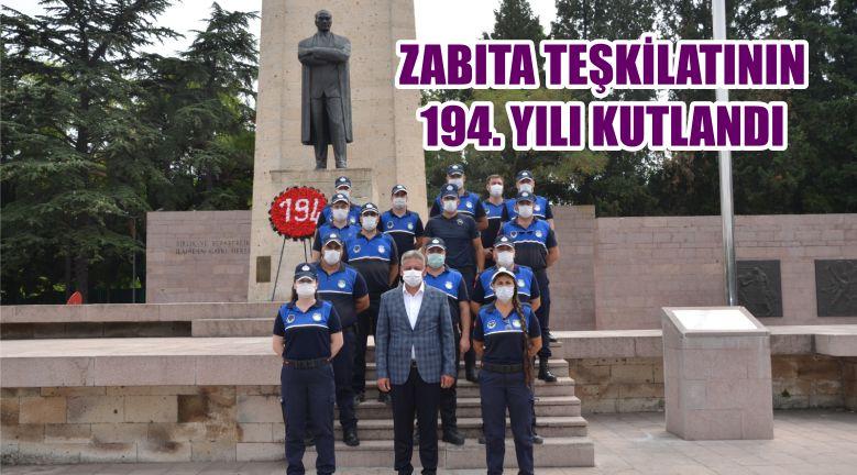 ZABITA TEŞKİLATININ 194. YILI KUTLANDI