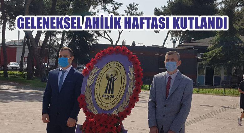 GELENEKSEL AHİLİK HAFTASI KUTLANDI