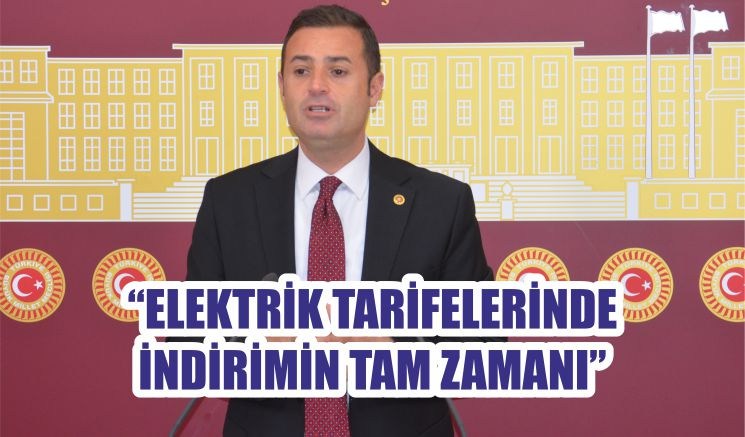 """""""ELEKTRİK TARİFELERİNDE İNDİRİMİN TAM ZAMANI"""""""