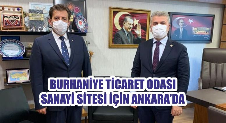 BURHANİYE TİCARET ODASI SANAYİ SİTESİ İÇİN ANKARA'DA