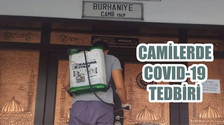 CAMİLERDE COVID-19 TEDBİRİ