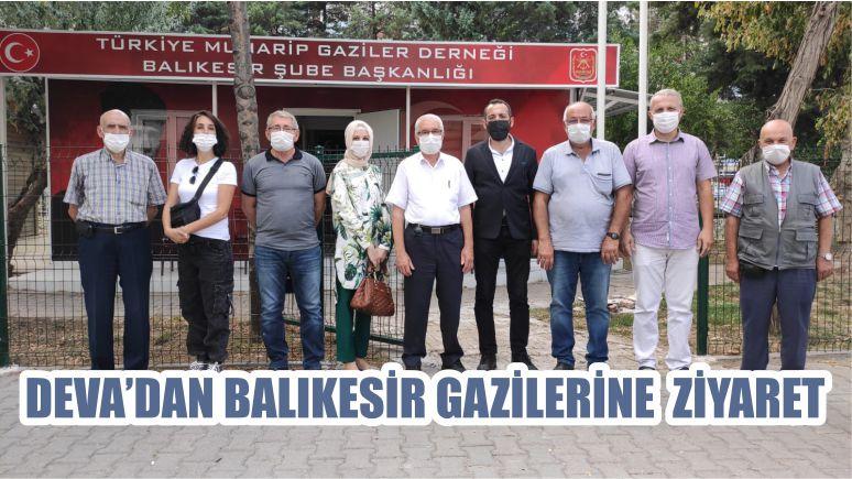 DEVA'DAN BALIKESİR GAZİLERİNE ZİYARET