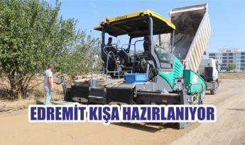 EDREMİT KIŞA HAZIRLANIYOR