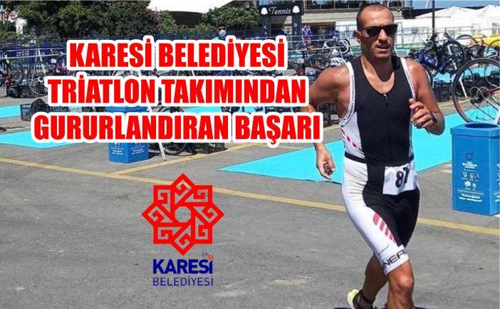 Karesi Belediyesi Triatlon Takımından Gururlandıran Başarı