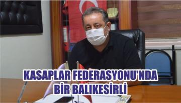 KASAPLAR FEDERASYONU'NDA BİR BALIKESİRLİ