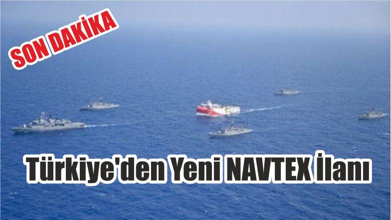 Türkiye'den Yeni NAVTEX İlanı