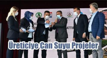 Üreticiye Can Suyu Projeler