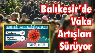 BALIKESİR'DE 25 EYLÜL KORONAVİRÜS TABLOSU