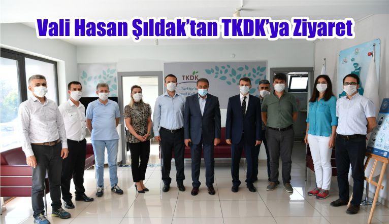 Vali Hasan Şıldak'tan TKDK'ya Ziyaret